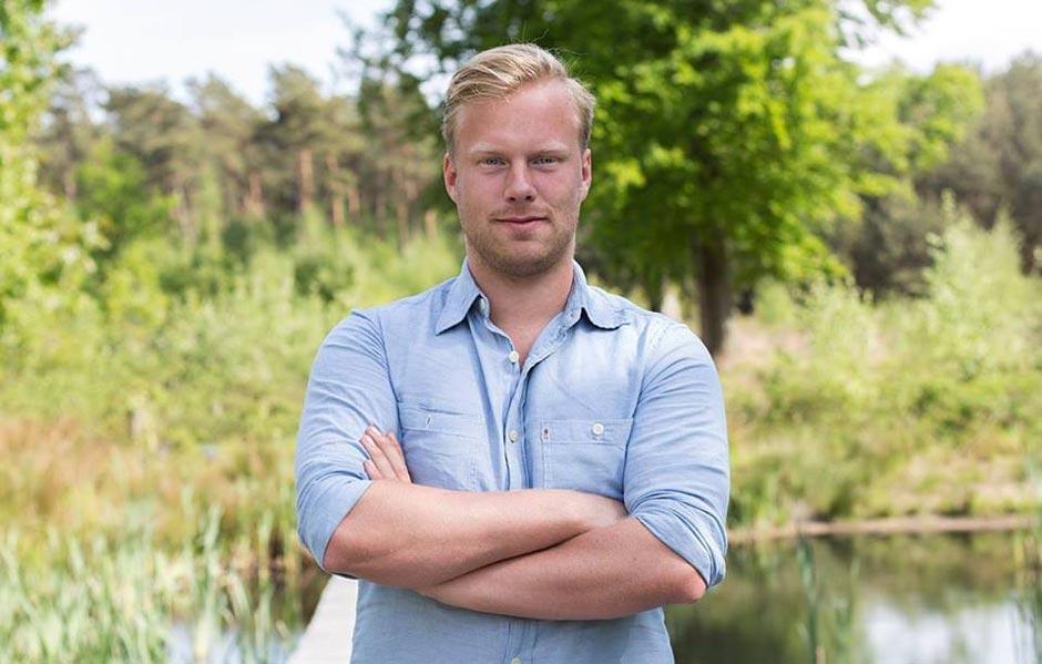afbeelding van Michiel van Hout. De oprichter van Prettig Besparen